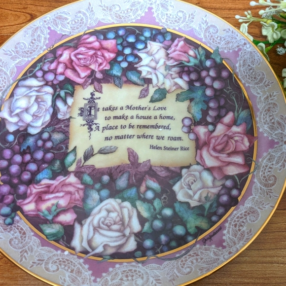 Bradford Exchange Collector Plate